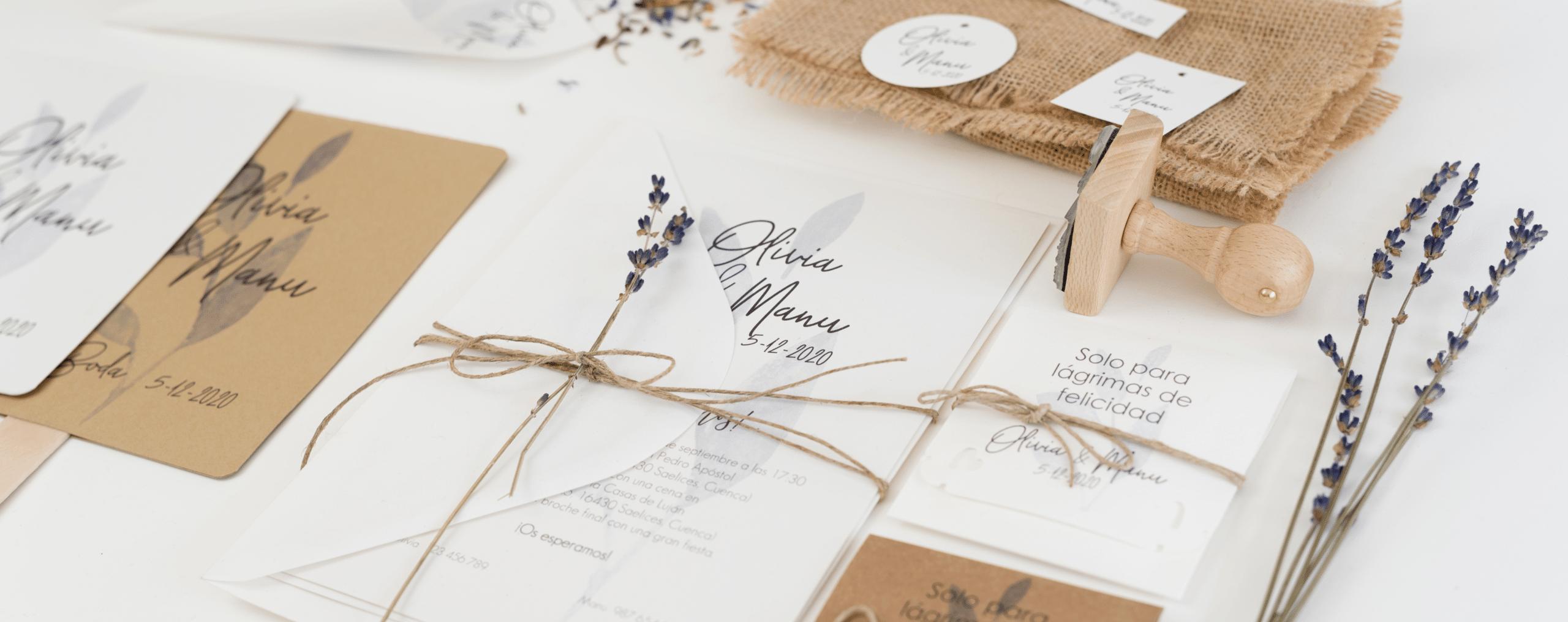 Qué hacer con la papelería si te casabas en 2020